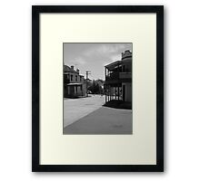 Midday In Rozelle Framed Print