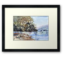 Why the environment has to be preserved Framed Print