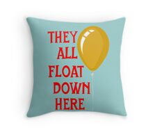 They all float... Throw Pillow