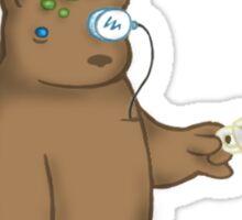 Crud Hat Bear Sticker