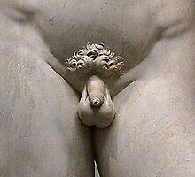 Uncircumcised David by RandomRosen
