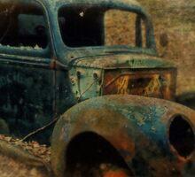 Resurrection Vintage Truck Sticker