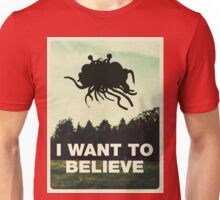 Flying Spaghetti Believing Unisex T-Shirt