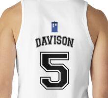 My Doctor is Peter Davison Tank Top