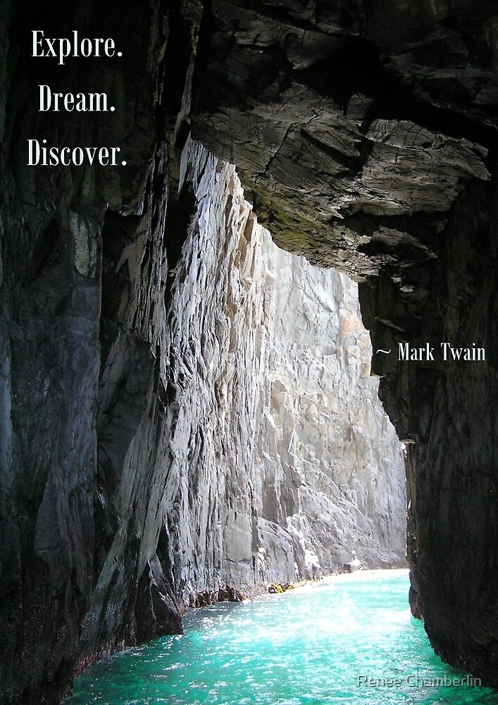 Explore, Dream, Discover by Renee Chamberlin