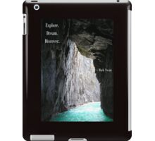 Explore, Dream, Discover iPad Case/Skin