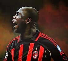 Clarence Seedorf painting by PaulMeijering