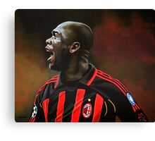 Clarence Seedorf painting Canvas Print