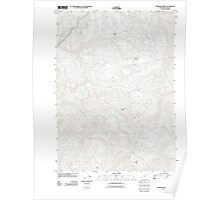 USGS Topo Map Oregon Chipmunk Ridge 20110831 TM Poster