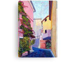 Laurino Italy Street Scene Canvas Print