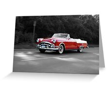 Cruising  Greeting Card