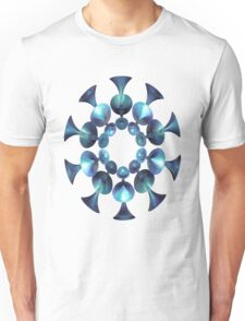 BLUE-GREEN WICKED # 8 Unisex T-Shirt