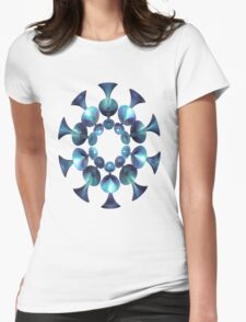 BLUE-GREEN WICKED # 8 T-Shirt