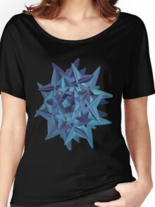 BLUE-GREEN WICKED # 9 Women's Relaxed Fit T-Shirt