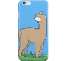 Brown Alpaca iPhone Case/Skin