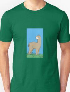 Brown Alpaca Unisex T-Shirt
