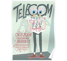 Telecom at the Old Bar 2010 03 13 Poster