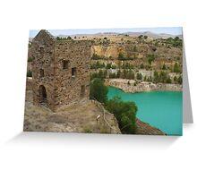 Mining relics, Burra, SA Greeting Card