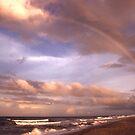 """""""Rainbow Dream"""" - rainbow on Flagler Beach, Florida by ArtThatSmiles"""