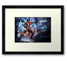 One with the universe Framed Print