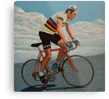 Eddy Merckx painting Metal Print