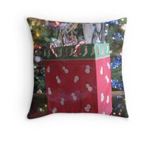 """Random Dancing Snowmen - Random Dancing Snowmen!"" Throw Pillow"