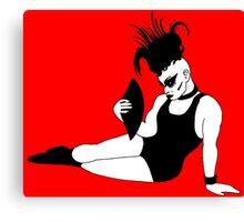 Nina Flowers RuPaul's Drag Race Canvas Print