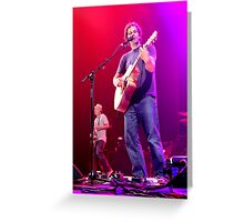 Jack Johnson- Live in Adelaide Greeting Card