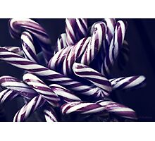 Mulled candy canes  Photographic Print