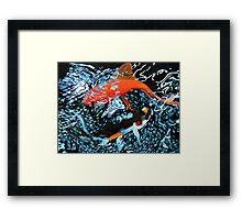 Serenity in the Water Framed Print