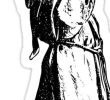 The Thirsty Monk Sticker