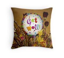 Get Well, Stay Strong Throw Pillow