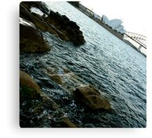 Opera House and Sydney Harbour Canvas Print