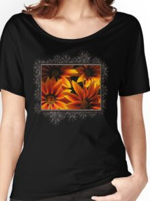 Gazania named Kiss Orange Flame Women's Relaxed Fit T-Shirt