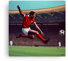 Eusebio painting Canvas Print