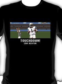 Tecmo Bowl Touchdown Cam Newton T-Shirt