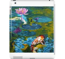 Tranquil Koi Lily Pond iPad Case/Skin