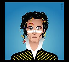 ADAM ANT (BLACK BORDER) by SNUGBAT