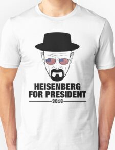 Heisenberg For President 2016 T-Shirt