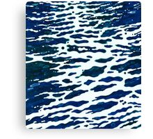 Midnight Wake Reflections of the Moon on Water Margaret Juul Canvas Print