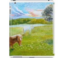 Serenity in the Field iPad Case/Skin