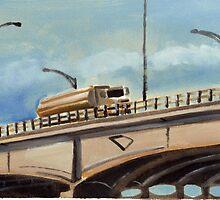 Gas delivery over the bridge by Sandro Vivolo