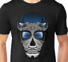 Dia De Los Muertos, Savage Blue Unisex T-Shirt