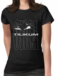 Tilikum -- A Controversial Orca in Captivity Womens Fitted T-Shirt