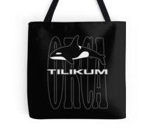 Tilikum -- A Controversial Orca in Captivity Tote Bag