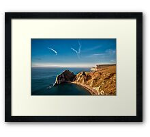 St Oswalds Bay Framed Print