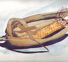 Corn Cob by Val Spayne