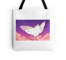 A cutie in the Clouds Tote Bag