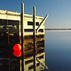 Calm morning at the jetty by Chris Jessup