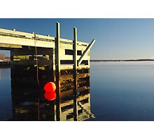 Calm morning at the jetty Photographic Print